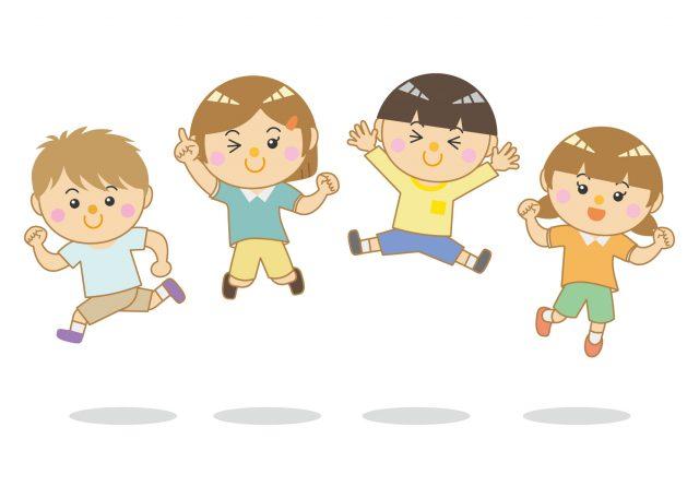 子ども ジャンプ!