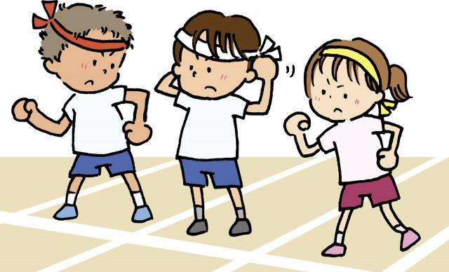 運動会 徒競走のスタート