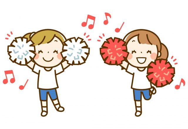 園児 児童 運動会 ダンス