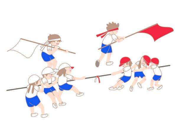 運動会 綱引き