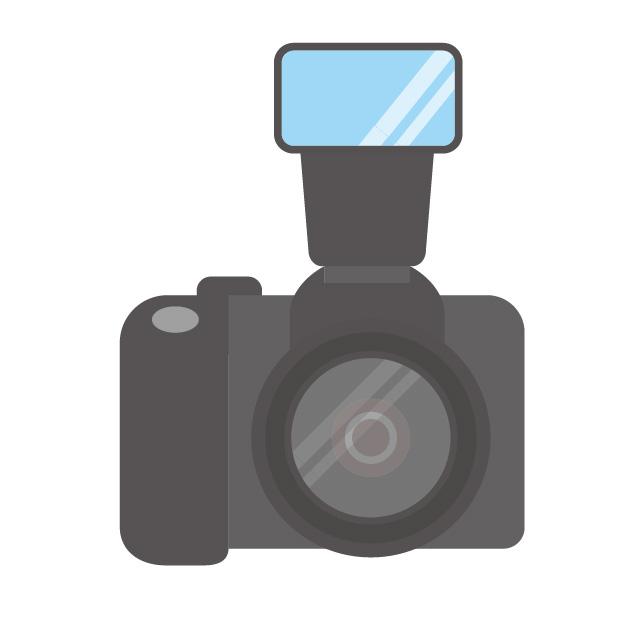 カメラ+ストロボ