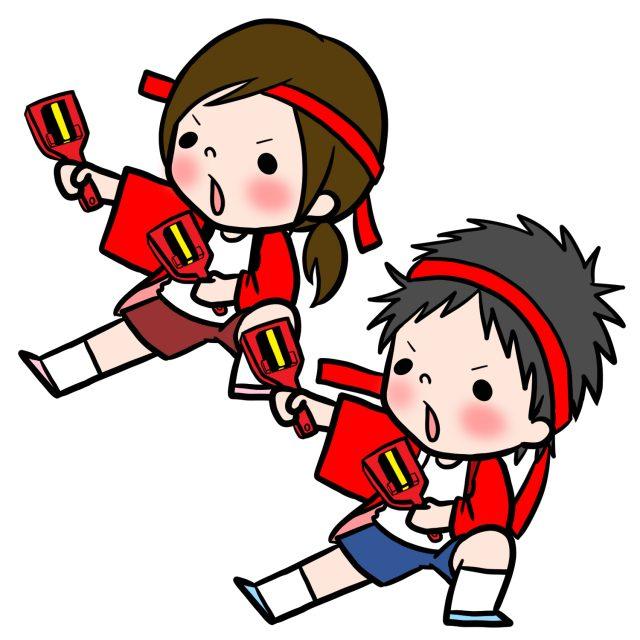 園児 児童 運動会 ダンス ソーラン節