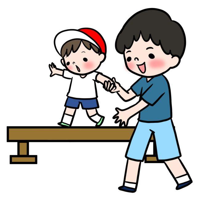 運動会 親子競技 障害物リレー
