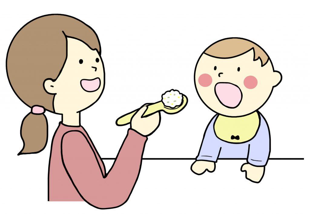 乳児の食事