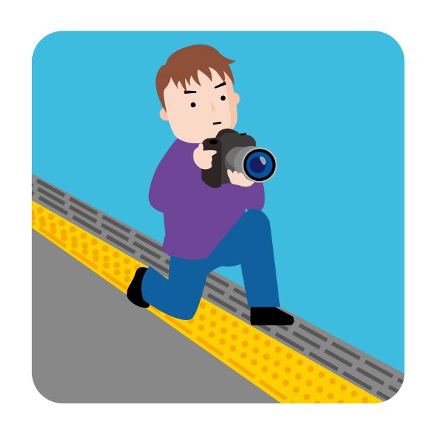 迷惑カメラマン
